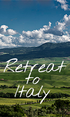 Come with us to Italy on a Yoga Retreat!